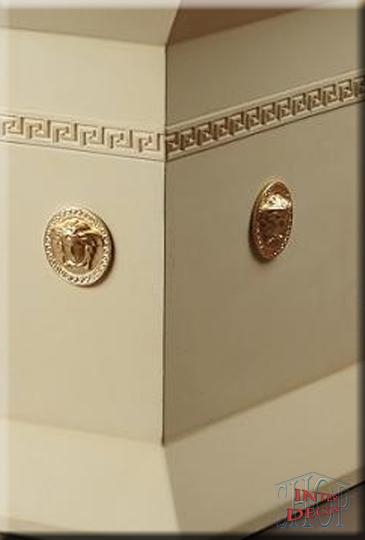 Designer Couchtisch Versace Medusa Wohnzimmertisch Tisch