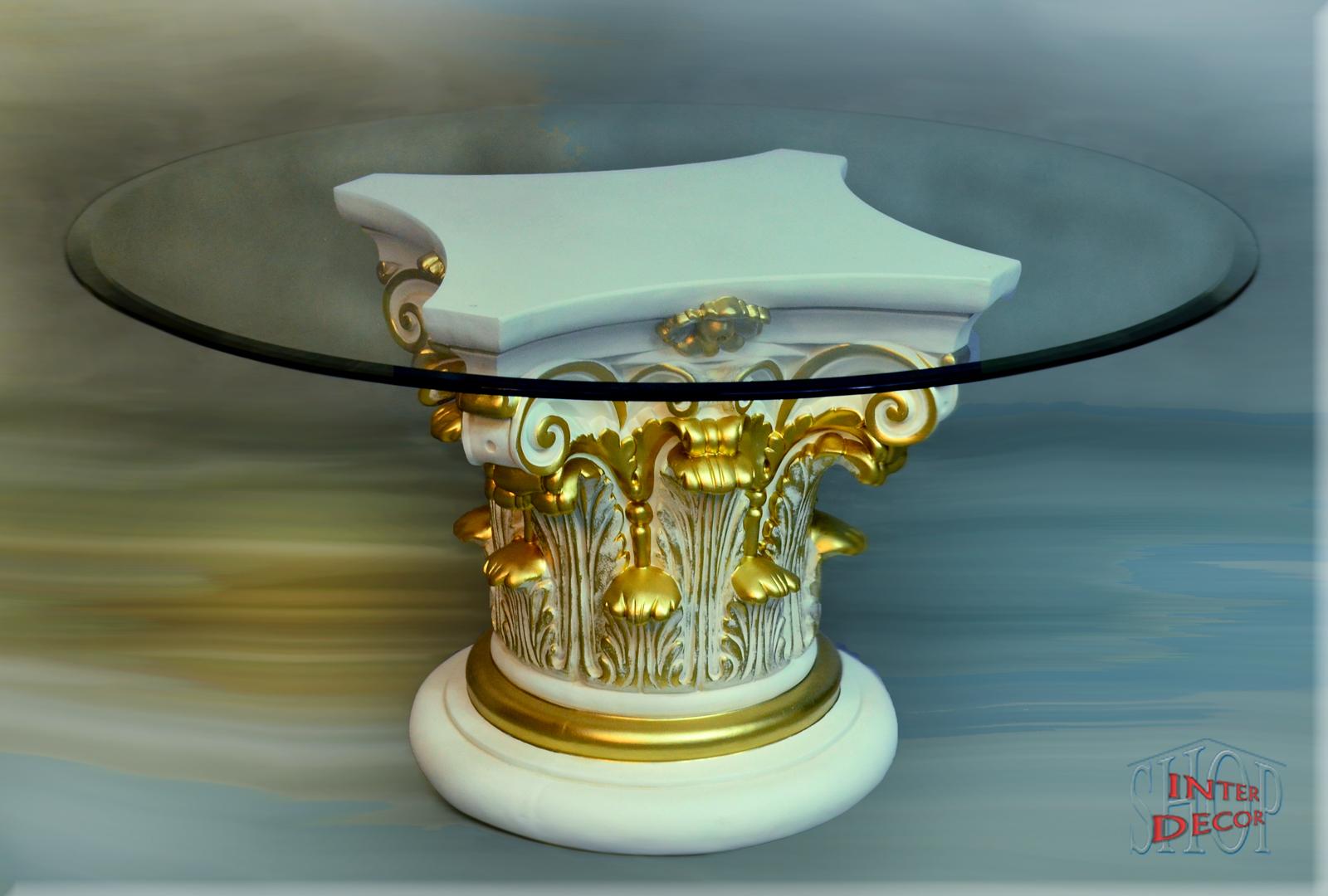Griechischer Designer Couchtisch Wohnzimmertisch Tisch