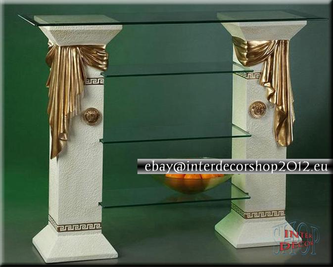 tv hifi lowboard rack regal fernsehtisch m bel schrank sideboard medusa ebay. Black Bedroom Furniture Sets. Home Design Ideas